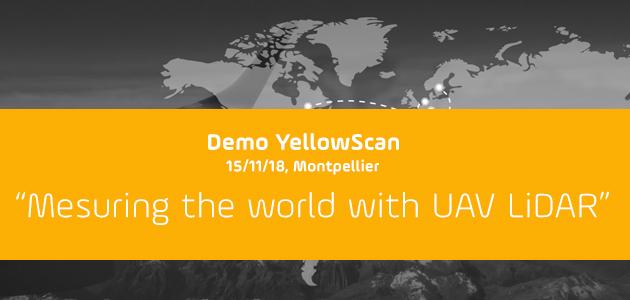 Demo de YellowScan en Montpellier
