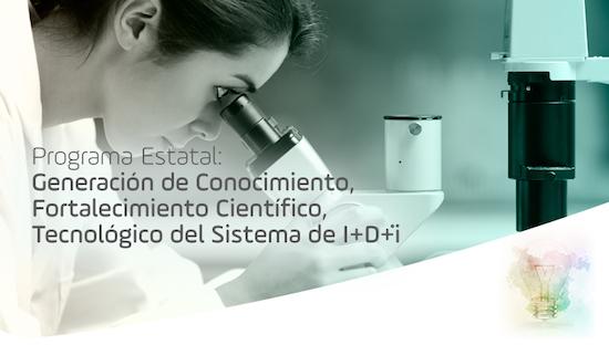 Programa Estatal de Generación de Conocimiento y Fortalecimiento Científico y Tecnológico del Sistem