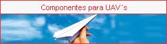 Seguridad: Componenetes para UAVs