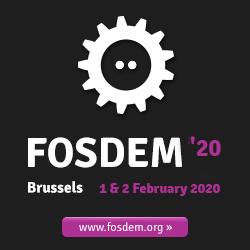 Nuestro compañero Álvaro del Castillo participa en FOSDEM'20