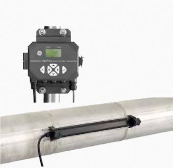 Aquatrans AT600, el Caudalímetro ultrasónico Panametrics para líquidos. ¡En la tubería en minutos!