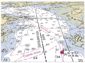 Cartas náuticas - S-57 Composer