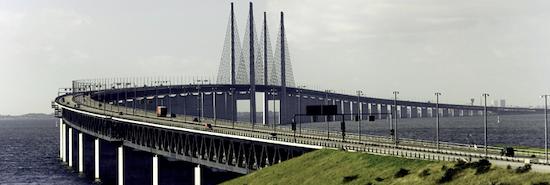 Sistema de monitorización estructural del puente Øresund