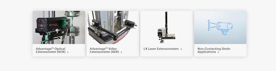 Soluciones de video extensometria o extensometría sin contacto