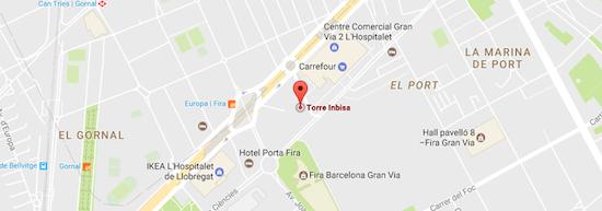 Torre Inbisa, Mapa, Plaza Europa, Grupo Álava