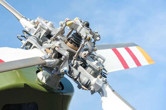 Rotor, palas de helicópteros