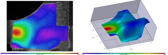 Medida de deformaciones, desplazamientos y contornos, análisis de materiales_2