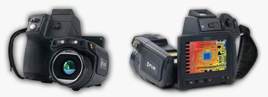 FLIR T650sc front and back