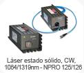 Láser estado sólido - NPRO125/126