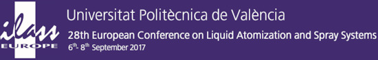 Álava Ingenieros en ILASS2017 - 28th European Conference on Liquid Atomization and Spray Systems