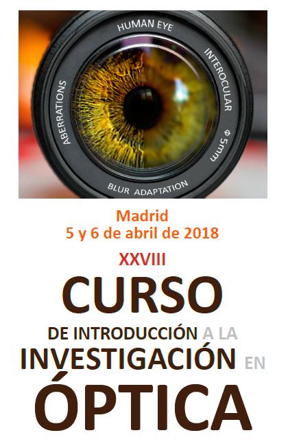 Curso de Introducción a la Investigación en Óptica