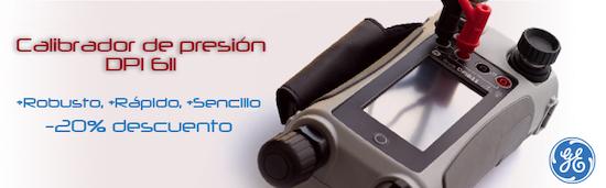 Calibrador de presión DPI 611