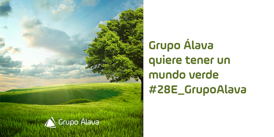 Grupo Alava, Enero 28, calentamiento global, mundo verde