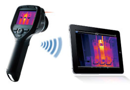 camara termografica flir serie e ipad