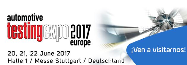 2017 Automotive Testing Expo Europe