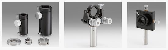 Componentes opto mecánicos OptoSigma