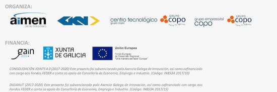 AIMEN Centro Tecnológico en colaboración con GKN Driveline Vigo S.A., CETEC y Grupo Empresarial COPO