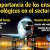 Ensayos tribológicos en el sector aéreo