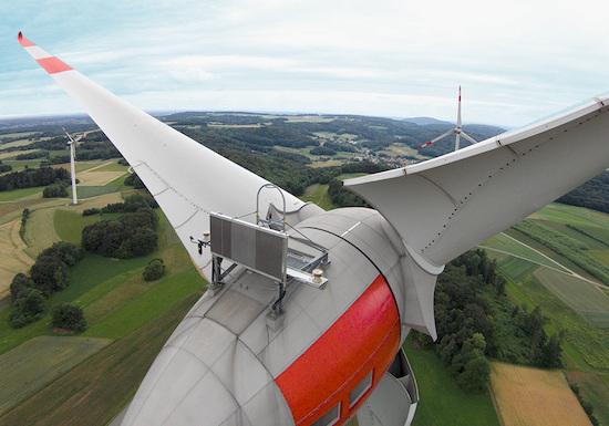 Inspección de turbinas eólicas