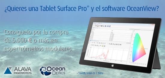 Banner promoción Ocean Optics