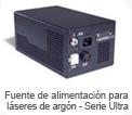 Fuente de alimentación para láseres de argón - Serie Ultra