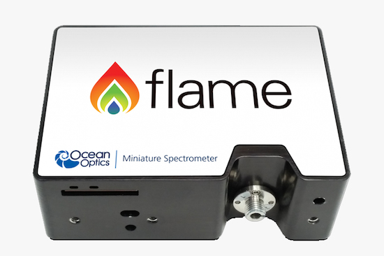 Espectrómetro miniatura Flame de Ocean Optics