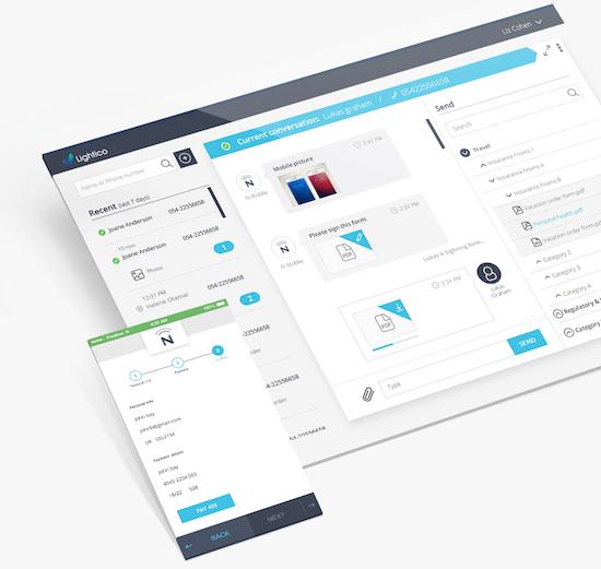 Desktop mobile lightico