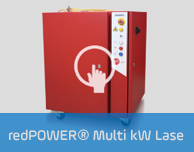 redPOWER® Multi kW Lase