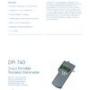 Barómetro Digital portátil DPI 740