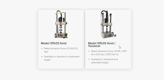 Modelos comparacion Bionix