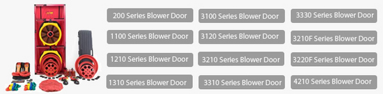nuevas series blower door