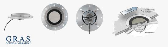 Nuevo kit de G.R.A.S. para la fijación de micrófonos a superficies en ensayos de turbulencias en tún