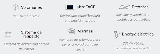 Configuracion ultracongelador