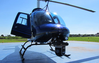 Sistema giroestabilizado en helicóptero