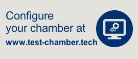 Configurador test chamber - Cámaras climáticas