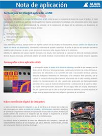 Tecnologías de Imagen aplicadas a END: Ejemplos de aplicación