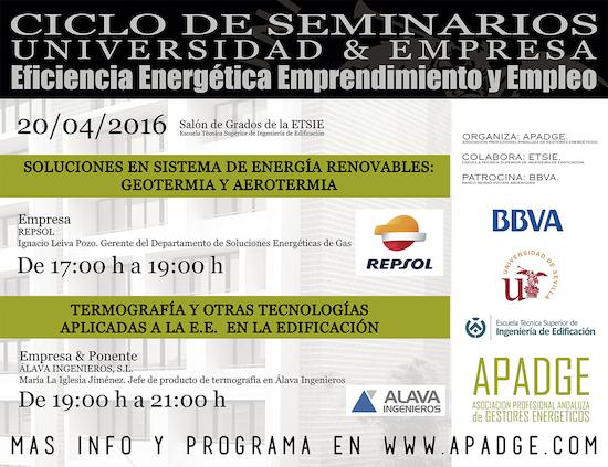 Cartel seminario REPSOL y ALAVA
