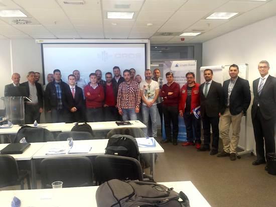Seminario alava ingenieros analisis de maquina rotativa, Asistentes