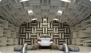 camaca acustica ensayos vehiculos