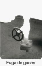 termografia fuga de gases
