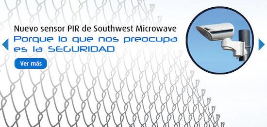 Nuevo sensor PIR de Southwest Microwave