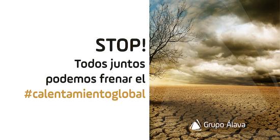 Todos juntos podemos frenar el calentamiento global
