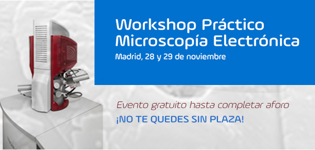 Workshop nanotecnología, microscopia electronica