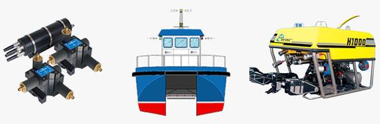 Vehículos submarinos