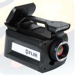 camara termografica flir sc8400 sc6540