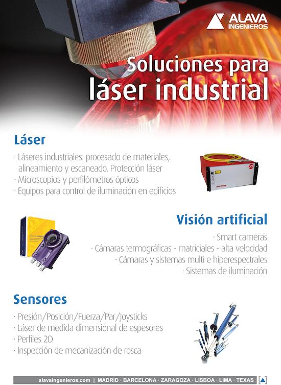 Soluciones para laser industrial
