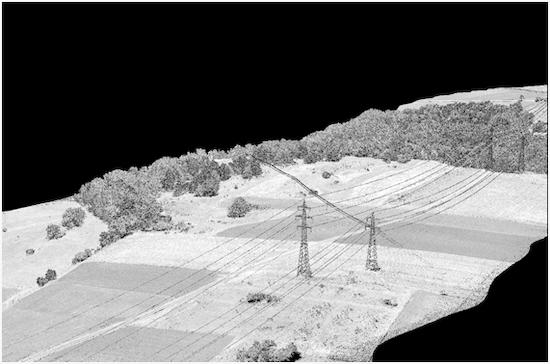 LIDAR ALTA TENSION