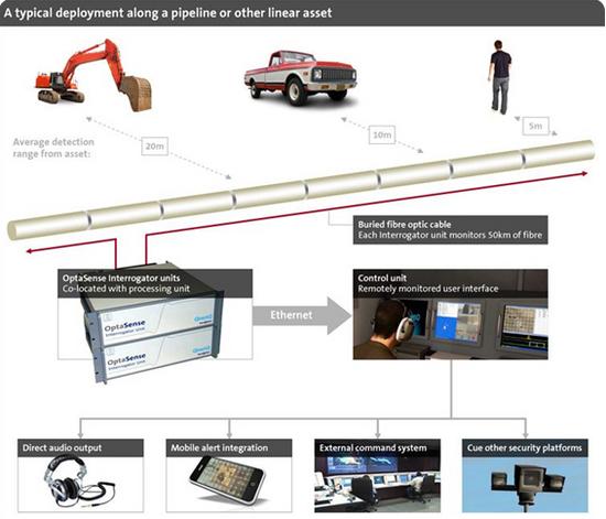 seguridad fibra optica