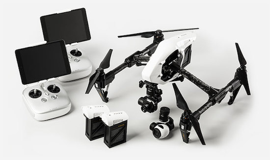 kit dron termografia