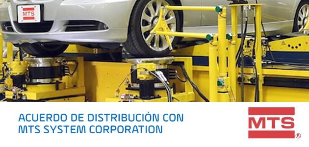 Acuerdo de distribución con MTS System Corporation